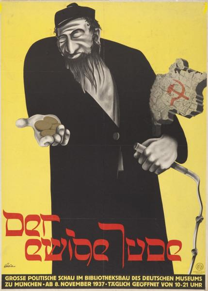 Nazi propaganda about Jewish people