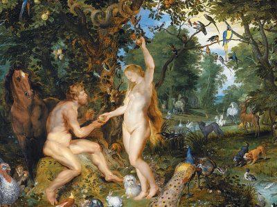 Adam and Eve by Jan Brueghel the Elder and Pieter Paul Rubens